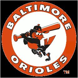 Baltimore Orioles Primary Logo 1966 - 1988