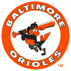 Baltimore Orioles Primary Logo 1989 - 1991