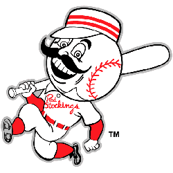 Cincinnati Redlegs Primary Logo 1954 - 1959