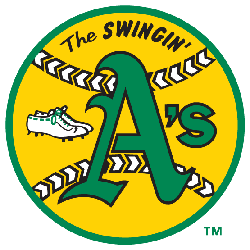 Oakland Athletics Primary Logo 1971 - 1982