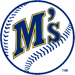 Seattle Mariners Primary Logo 1987 - 1992