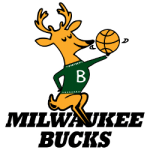 Milwaukee Bucks Primary Logo 1969 - 1993