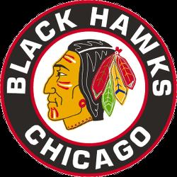 Chicago Black Hawks Primary Logo 1956 - 1957