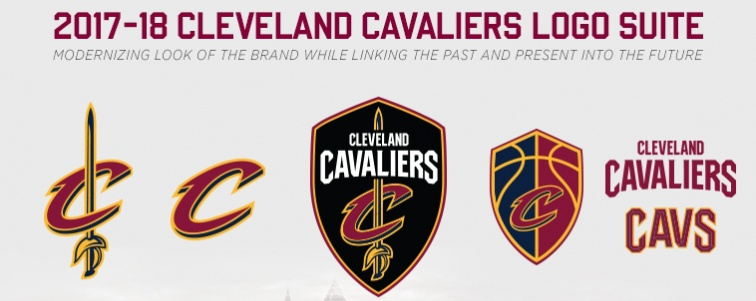 New Cavs Logo Suite 2017