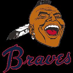 Atlanta Braves Primary Logo 1968 - 1971
