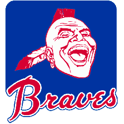 Atlanta Braves Primary Logo 1972 - 1984