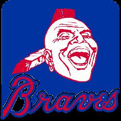 Atlanta Braves Primary Logo 1985 - 1986
