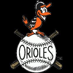 Baltimore Orioles Primary Logo 1954 - 1965