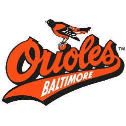 Baltimore Orioles Primary Logo 1992 - 1994
