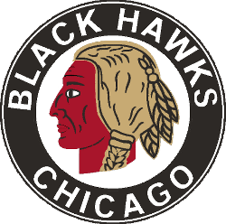 Chicago Black Hawks Primary Logo 1938 - 1941