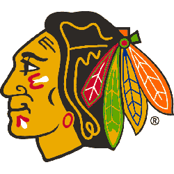 Chicago Blackhawks Primary Logo 1987 - 1996