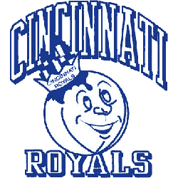 Cincinnati Royals Primary Logo 1958 - 1971