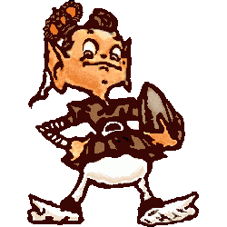 Cleveland Browns Primary Logo 1948 - 1958