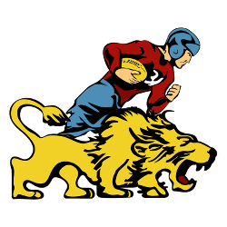 Detroit Lions Primary Logo 1952 - 1960