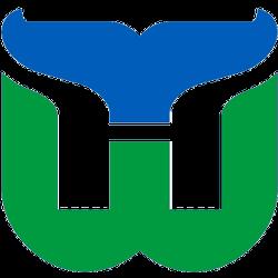 Hartford Whalers Primary logo 1980 - 1992