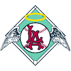 Los Angeles Angels Primary Logo 1961 - 1964