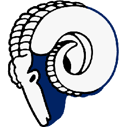 Los Angeles Rams Primary Logo 1946 - 1950
