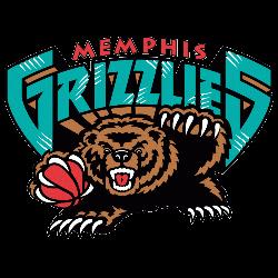 Memphis Grizzlies Primary Logo 2002 - 2004
