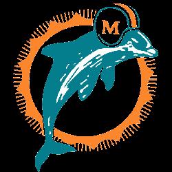 Miami Dolphins Primary Logo 1974 - 1989