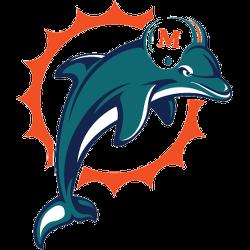 Miami Dolphins Primary Logo 1997 - 2012