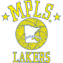 Minneapolis Lakers Primary Logo