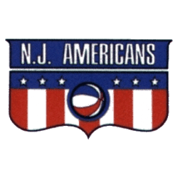 New Jersey Americans Primary Logo 1968