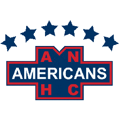 New York Americans Primary Logo 1940 - 1941