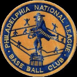 Philadelphia Phillies Primary Logo 1938