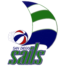 San Diego Sails Primary Logo 1975 - 1976