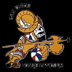 San Diego Conquistadors Primary Logo 1972 - 1975