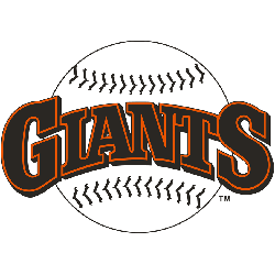 san francisco giants primary logo sports logo history rh sportslogohistory com MLB Giants Font san francisco giants script logo font