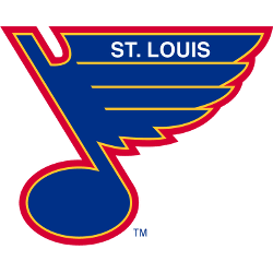 St. Louis Blues Primary Logo 1990 - 1997