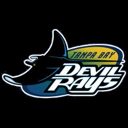 Tampa Bay Devil Rays Primary Logo 1998 - 2000