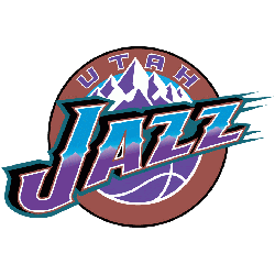 Utah Jazz Primary Logo 1997 - 2004