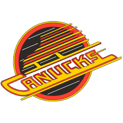 Vancouver Canucks Primary Logo 1979 - 1997