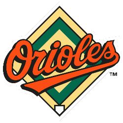 Baltimore Orioles Alternate Logo 1995 - 2008