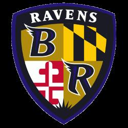 Baltimore Ravens Alternate Logo 1996 - 1998