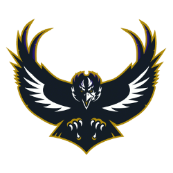 Baltimore Ravens Alternate Logo 1996 - 1998
