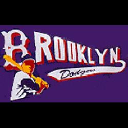Brooklyn Dodgers Alternate Logo 1941 - 1957