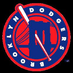 Brooklyn Dodgers Alternate Logo 1947