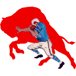 Buffalo Bills Alternate Logo 1965 - 1969