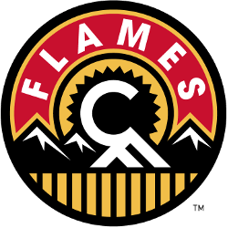 Calgary Flames Alternate Logo 2014 - 2016
