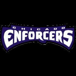 Chicago Enforcers Wordmark Logo 2001