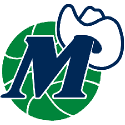 Dallas Mavericks Alternate Logo 1981 - 2001