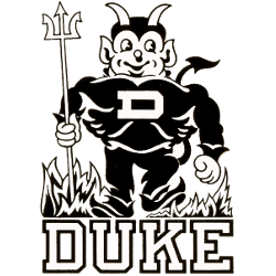 Duke Blue Devils Primary Logo 1955 - 1965