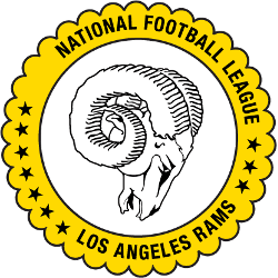 Los Angeles Rams Alternate Logo 1970 - 1972