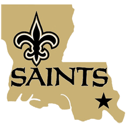 New Orleans Saints Alternate Logo 2006 - Present