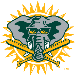 Oakland Athletics Alternate Logo 1994 - 2002