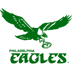 Philadelphia Eagles Alternate Logo 1973 - 1995
