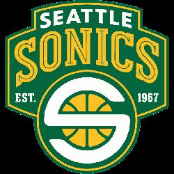 Seattle Supersonics Alternate Logo 2002 - 2008
